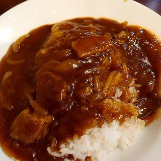 牛バラ肉カレーご飯(保昌)