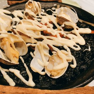 イカ墨のパエリア (スペイン食堂 石井 (イシイ))