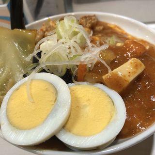 半蒙古丼セット・北極ラーメン
