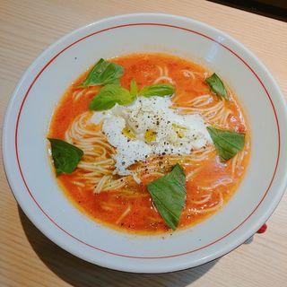 トマトクリームラーメン(拉麺開花)