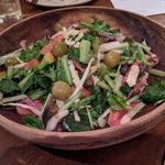 炙りイワシと八朔の季節のサラダ