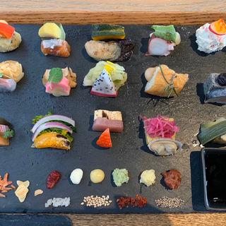 手織り寿司(AWOMB烏丸本店)
