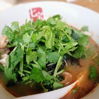 麻辣湯(七宝 麻辣湯 赤坂店 (チーパオ マーラータン))
