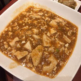 麻婆豆腐定食(美華園 新橋店 (ビカエン))