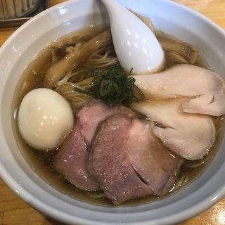 全乗醤油ラーメン(麺響万蕾)