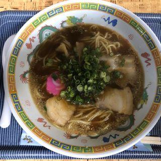 醤油豚骨ラーメン(ラーメン倉庫 )