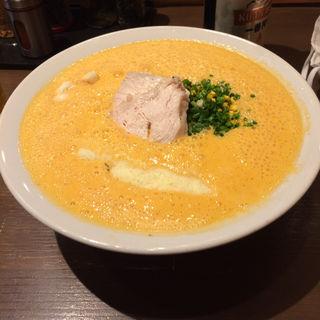 オマール海老湯(麺屋 はやぶさ)
