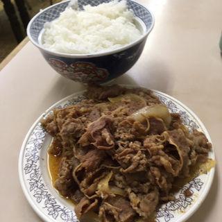 牛皿(牛丼専門サンボ (さんぼ))