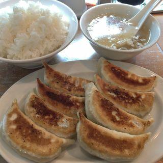 元祖餃子 並盛定食(餃子屋 一番星)