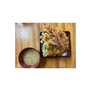 海老天丼(相浜亭 )