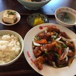酢豚定食(友人 (ユウジン))