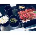 ステーキ重(本みやけ 阪急三番街店 (ほんみやけ))