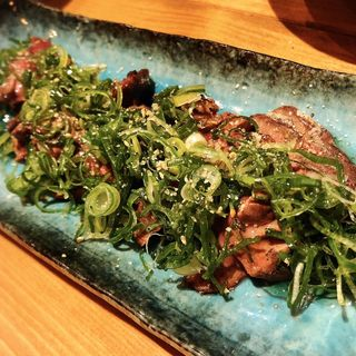 鶏肝のレア炙り焼き(クカバラ)