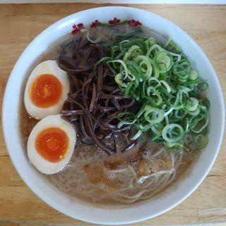 半熟味玉豚そば(麺や木蓮 )