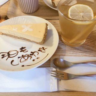 チーズケーキ(カフェkinmokusei)