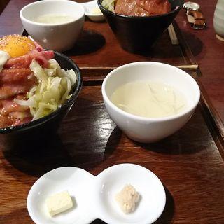 和牛ローストビーフ丼定食(ローストビーフ大野 吉祥寺店 )