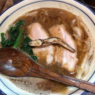 かけラーメン(烈志笑魚油 麺香房 三く)