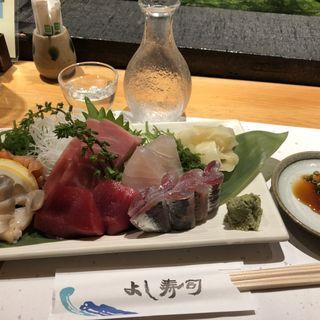 刺身盛り(よし寿司 上野店)