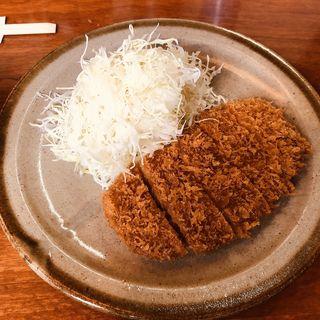 ロースカツ定食(銀座 井泉 (ぎんざ いせん))