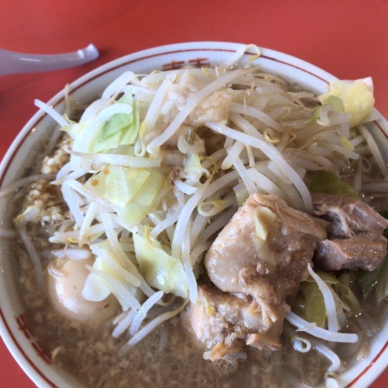 小ラーメン ニンニクヤサイカラメアブラマシ(麺屋みやび)