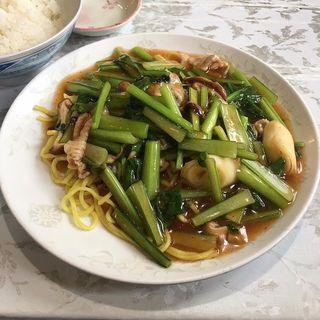 青菜焼きそばランチ(夜来香 栄本店 (いえらいしゃん))
