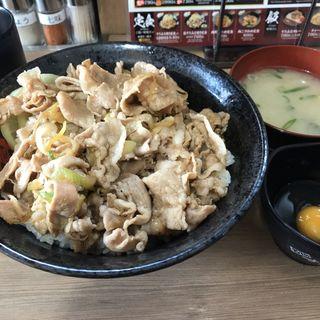 ガリバタすた丼(伝説のすた丼屋 横浜西口店 )
