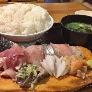 刺身定食(魚河岸おに平 )