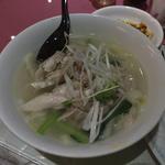鶏肉刀削麺