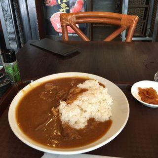 常陸牛!牛肉たっぷりカレー(すき焼ゑびす本廛 (スキヤキエビスホンジン))