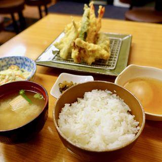 天ぷら定食(起世 本店 )