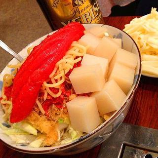 明太チーズもちもんじゃ(もんじゃ近どう 本店 (もんじゃ・こんどう))