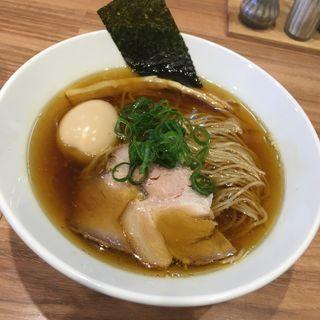 味玉醤油らーめん(らーめん にじいろ)