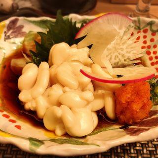 白子ポン酢(茶碗蒸し本舗稲穂 中洲店)