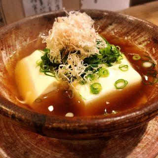 湯豆腐(番屋 燁)