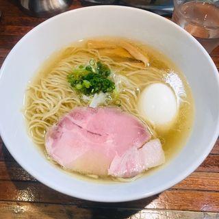 しおらーめん(町田汁場 しおらーめん進化 町田駅前店 )