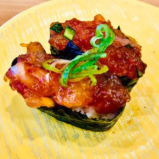海鮮うま辛和え(かっぱ寿司 飯能店 )