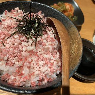 牛トロフレーク丼(塩ホルモン 獅子丸 )