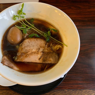 熟成醤油 細麺(さんぶんのに)