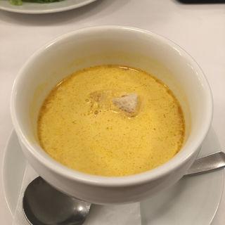 かぼちゃのクリームスープ(BISTRO 石川亭 神田錦町店 (ビストロイシカワテイ))