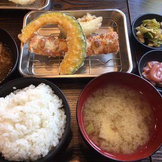 肉天定食(天ぷら さいとう )