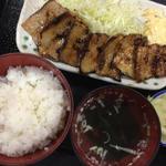 元祖豚バラ焼き定食