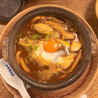 牡蠣入り味噌煮込うどん(山本屋本店 大門本店 (やまもとやほんてん))