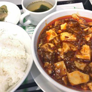 麻婆豆腐セット(まぁぼや)