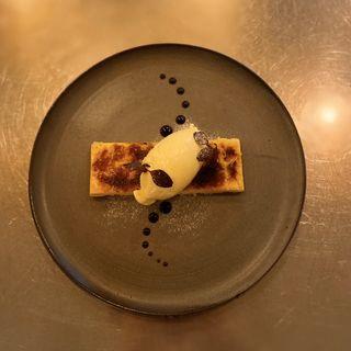 カタラーナ(オレンジ風味の蒸しプリン)(36.5℃ Kitchen)