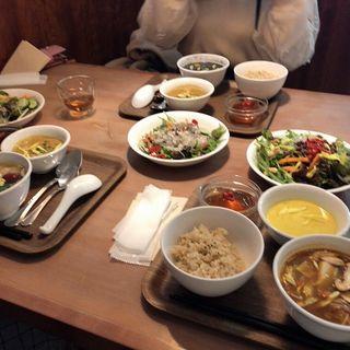 平日限定日替り定食 薬膳スープセット(10ZEN 品川店)