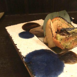 筍と鮭のアボカド西京味噌炙り(和食 おやまだ )