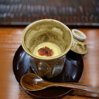 梅の茶碗蒸し(鮨旬美西川)