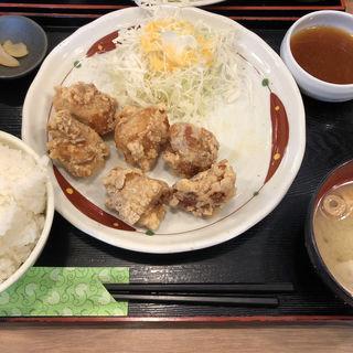 鶏モモ唐揚げ おろしポン酢定食(鳥良商店 神田西口店 )