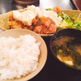 チキン南蛮定食(黒木屋 銀座一丁目 )