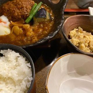 煮込みハンバーグ定食(佐海たちばな )